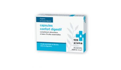 Capsules confort digestif sos aroma revue pharma for Sos expert fenetre
