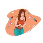 """ J'ai mal au ventre… """
